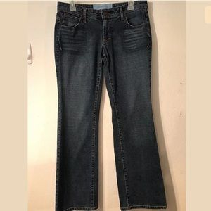 MOSSIMO DENIM Bootcut jeans size 9 stretch